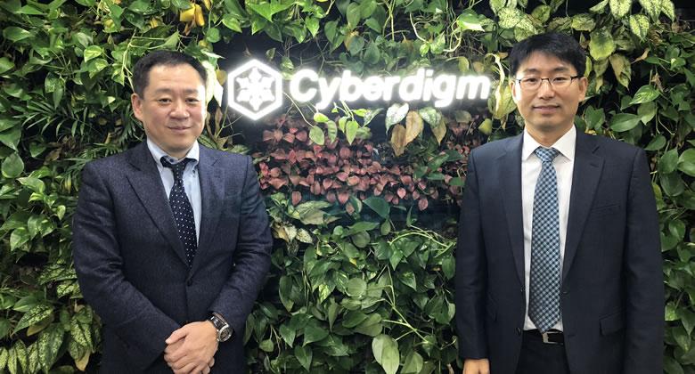 韓国・文書管理システムのサイバーダイム社と業務提携しました。